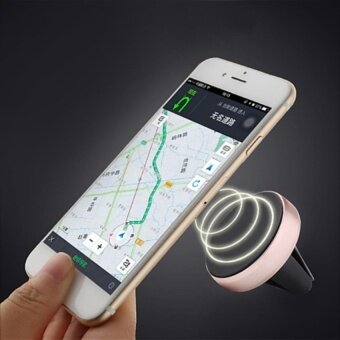 CHEER Auto Car Holder Mini Air Vent Mount Magnet Magnetic Phone CarHolder Stand