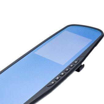 CK MOBILE กล้องติดรถยนต์ กระจกกล้องหน้า/หลัง รุ่น SL500 FULL HD1080 (image 2)