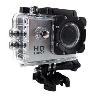 Ck Mobile Sport Action Camera 2.0 LCD Full HD 1080P No WiFi(สีเงิน)