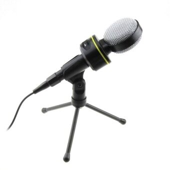 Condenser Sound Recording Microphone Mic Stand For PC Laptop Skype MSN - intl