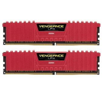 ประเทศไทย Corsair RAM DDR4 3000 Vengeance LPX 4GBX2 8GB (Red)