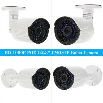 COTIER 1080P HD POE IP Camera 2.0MP 3.6mm 1/2.8'' CMOS H.264 P2P Onvif 36 IR LEDS Night View IR-CUT Motion Detection Email Alert Phone APP Control Home Security - intl - 3