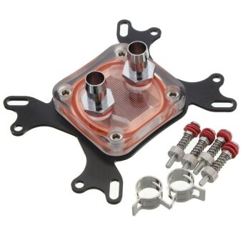 CPU Water Cooling Block Waterblock 50mm Copper Base CoolInnerChannel US - intl