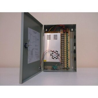 Switching Power Supply DC12V 30A 18-CH