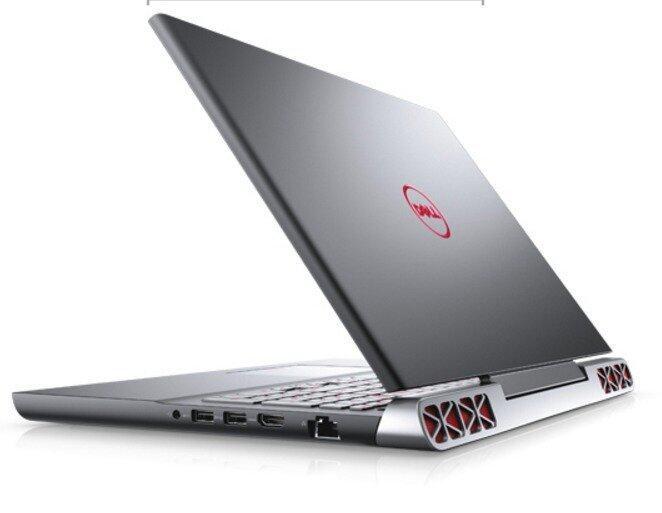 Dell Inspiron 7566-W56755721 i5-6300HQ4GB1TBGTX960M 4GBWINDOWS 10 - Black