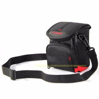 Harga Digital Camera Bag Case for Canon G9X G7X G7XII G5X G1X G1XII G16G15 SX720 SX710 SX700 SX170 SX160 With Strap and Logo - intl