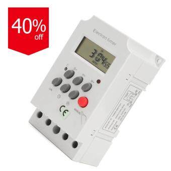 Digital Programmable Electronic Timer Switch For KG316T-II สีขาว