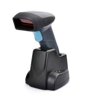 DJSHOP เครื่องสแกนบาร์โค๊ตไร้สาย Wireless Barcode Scanner รุ่น H018S (สีดำ)
