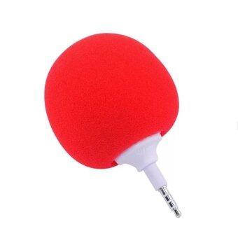 DT ลำโพงบอลจิ๋ว audio cool สำหรับโทรศัพท์มือถือ (สีเเดง)