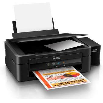 Epson L360 เครื่องพิมพ์มัลติฟังชั่น อิงค์เจ็ท พร้อมหมึกแท้ 1 ชุด (หมึกดำ 1 ขวด สีอย่างละ 1 ขวด)