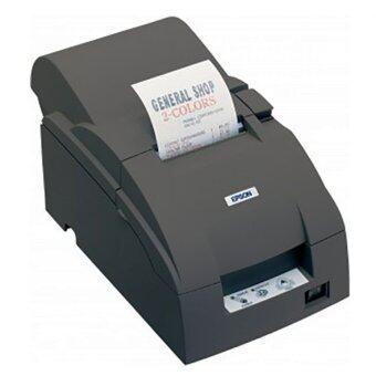 Epson เครื่องพิมพ์ใบเสร็จอย่างย่อ รุ่น TM-U220A serial - สีดำ