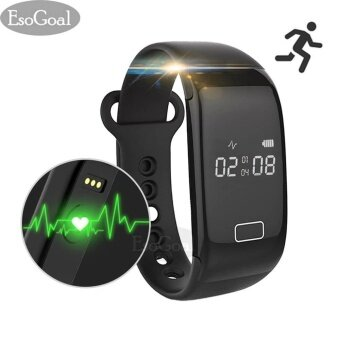 EsoGoal Fitness Tracker Smart Bracelet Bluetooth Heart Rate Monitor Activity Watch Wristband Pedometer Sleep Bracelet Calories Track Step Health Band IP 57 Waterproof Smart Watch for iPhone & Android phones - intl