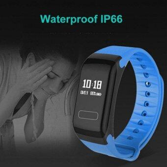 F1 Wristband Heart Rate Monitor Smart Watch Blood Pressure Blood Oxygen Tracker Sports Reminder Smart Bracelet For IOS And Android - intl