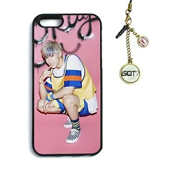 Fanstown GOT7 Just Right iphone6 case + Dust plug charm - intl