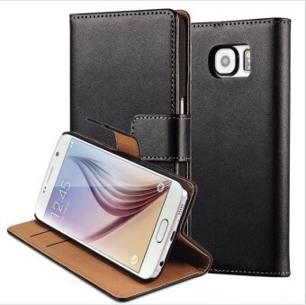 Fashion Leather Wallet Case with Card Slots Stand Holster forSamsung Galaxy S6 Edge Plus - intl