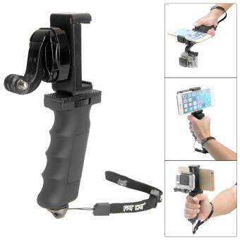 Harga Fat Cat Hand Grip Stabilizer w/ Phone Clamp for GoPro Hero 4 3+ 3 2- intl