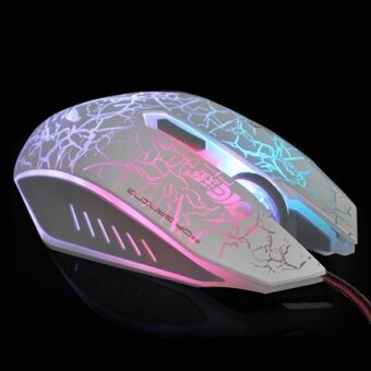 Fertile wrangler people notebook desktop computer luminous USB wired mouse cf lol gaming game Mouse  - intl