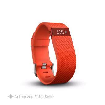 FITBIT CHARGE HR TANGERINE LARGE