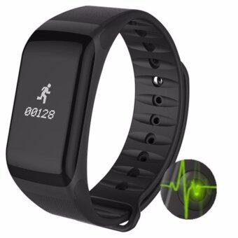 Fitness Tracker Wristband Heart Rate Monitor Smart Band F1 Smartband Blood Pressure With Pedometer Bracelet - intl