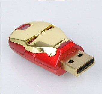 Flash Drive IRON MAN 16 GB Color RedGold