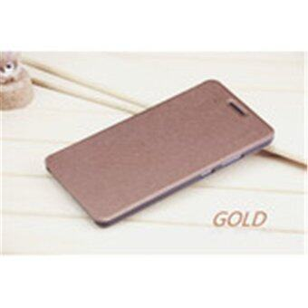 Flip PU Leather Case Cover For Lenovo PHAB Plus/PB1-770N/PB1-770M(Gold)