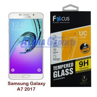 FOCUS ฟิล์มกระจกนิรภัยโฟกัส Samsung Galaxy A7 2017 (TEMPERED GLASS)