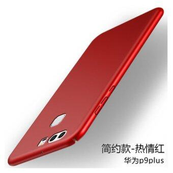 For Hua wei P9 Plus 360 degrees Ultra-thin PC Hard shell phone cover case/Red - intl