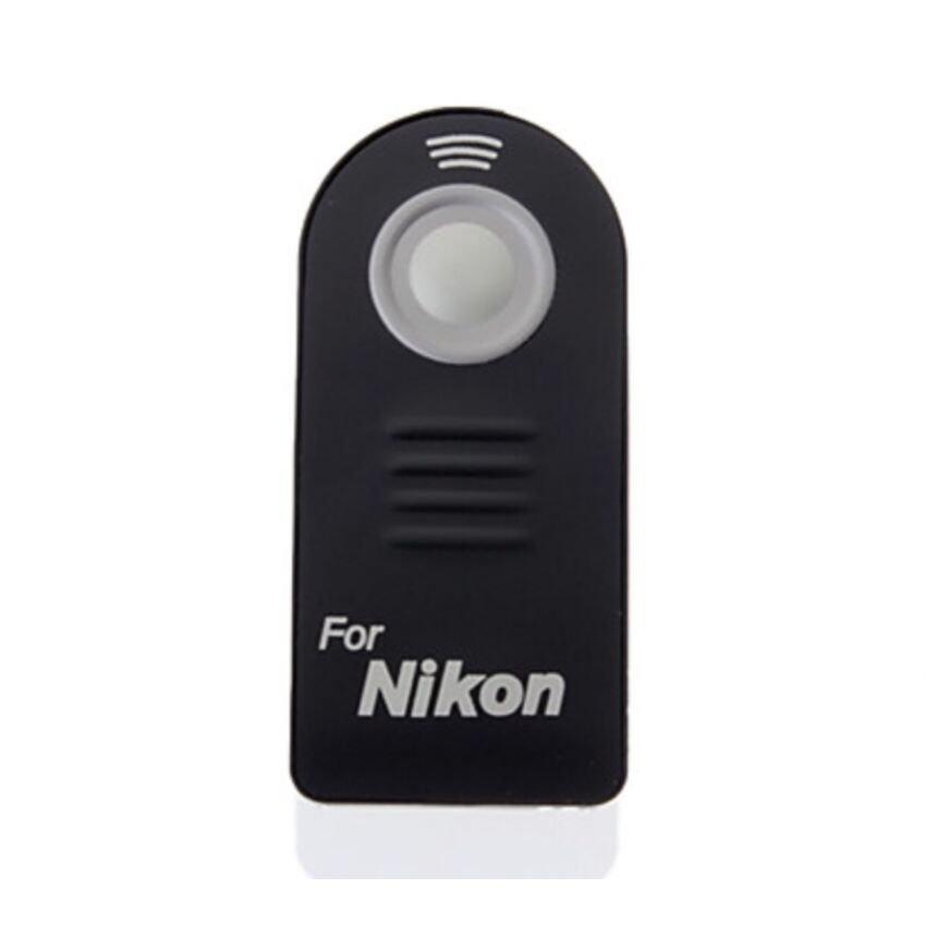 For Nikon รีโมทชัตเตอร์ไร้สายสำหรับกล้อง (สีดำ)