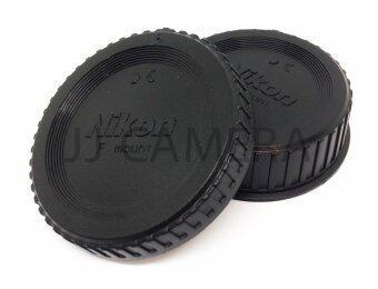 For Nikon ฝาปิดท้ายเลนส์ + ฝาปิดบอดี้ For Nikon DSLR