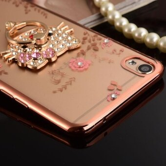 ... For OPPO Joy 5 Soft Phone Case Shockproof Phone Cover CasingPhonecase With Ring Holder - intl ...