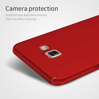 For Samsung Galaxy A7 (2016) A710 Full Body Hard PC Smooth GripBack Case Cover (Red) - intl - 2