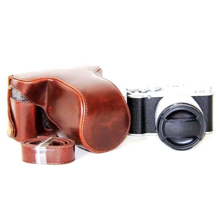 กระเป๋าหนัง/เคสหนังใส่กล้อง FUJI XA10 XA3 XA2 XA1 XM1 X-a3X-a2