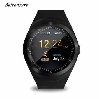 Full Round Screen Bluetooth Smart Watch Betreasure BW01 Activity Tracker Sleep Monitor Pedometer Smartwatch Support SIM Card TF Card - intl