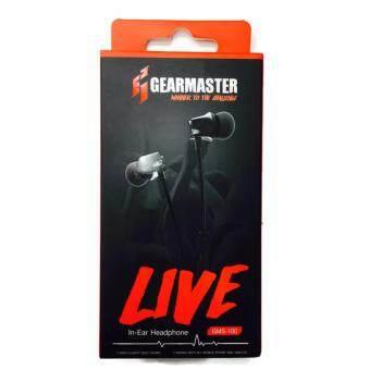 ประเทศไทย GearMaster GMS-100 Silver (LIVE) Microphone and Volume Controls In-Ear PC and Music Analog Gaming Headset