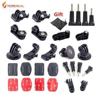 Go pro accessories Mount Adapter Arm Chain Tripod Screw For Go pro Hero 5 3 4 Session SJCAM SJ4000 SJ5000 SJ6 SJ7 Yi 4k M10 M20 Action Camera Accessory - intl
