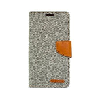 Goospery เคส Samsung Galaxy J7 Version 2 (2016) รุ่น #CANVAS DIARY(Grey)