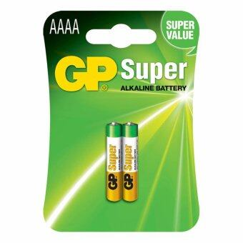 GP AAAA Alkaline Battery 4A,LR8D425,E96 (pack x 2)
