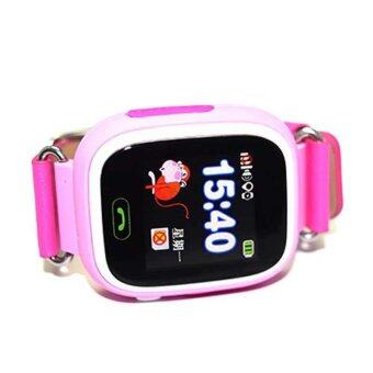 Harga GPS Q90 Touch Screen WIFI Position Smart Watch Children SOS CallLocation Finder - intl