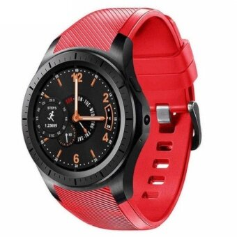GW10 Heart Rate Monitor Smart Watch Android 5.1 Phone RAM 512MB+ROM 4GB MTK6580 Support Wifi GPS SIM Card - intl