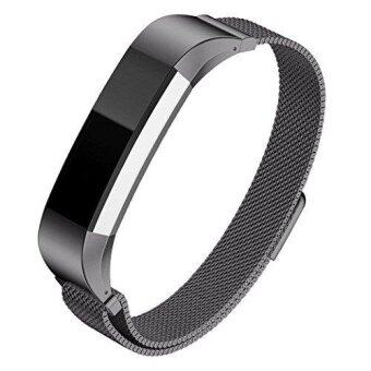 Hanlesi for Fitbit Alta HR Band,Milanese Loop Stainless SteelBracelet with Unique Magnetic Lock Replacement