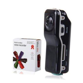 Hayashi Outdoor sports camera recorder กล้อง Mini DV Cameraกล้องติดรถ กล้องติดหมวก รุ่น MD80 (สีดำ)
