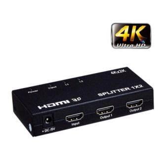 กล่องแปลงสัญญาน HDMI Sกล่องแปลงสัญญาน HDMI Splitter เข้า 1 ออก 2 Full HD 1080P Video+Audio HDMI Splitter 1X2 4K 2K-intlplitter เข้า 1 ออก 2 Video+Audio HDMI Splitter 1X2 4K 2K-intl