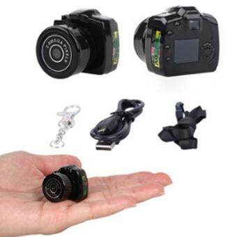 HengSong 2MP HD Mini DV Digital Camera Video Recorder CamcorderWebcam DVR Spy Outdoor Recorder(Black) - intl