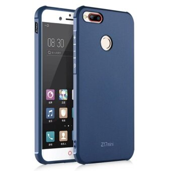 Hicase Silicone Gel TPU Bumper Air Cushion Protective Case Cover for ZTE nubia Z17 mini Navy Blue - intl