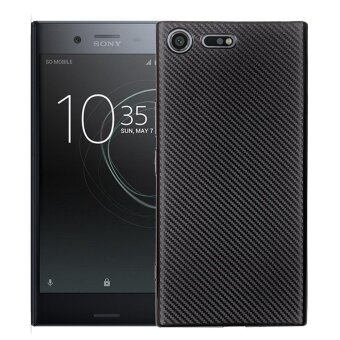 Hicase Ultra Light Slim Shockproof Silicone TPU Protective Case Cover for Sony Xperia XZ Premium Black - intl