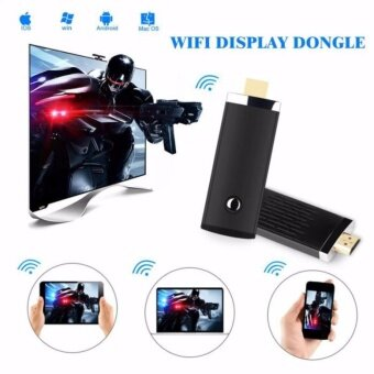 Harga High Speed HDMI Wireless WIFI Display Dongle Sharing Photo/ Music/Game Entire Screen from Phones on Big TV Screen