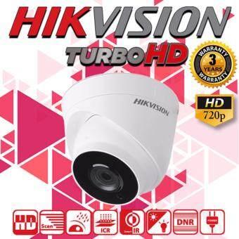 รีวิว กล้องวงจรปิด Hikvision Outdoor EXIR Eyeball HDTVI Turbo 1 ล้านพิกเซล HD720p