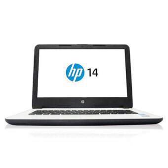 """ประเทศไทย HP 14-ac011TX i5-5200U/4G/500G/R5M330/14.0""""/Dos (White)"""