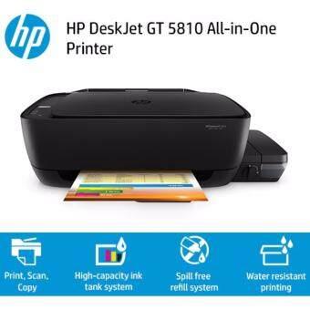 รีวิวพันทิป ปริ้นเตอร์ HP Deskjet GT5810 All in one หมึกพร้อมใช้งาน