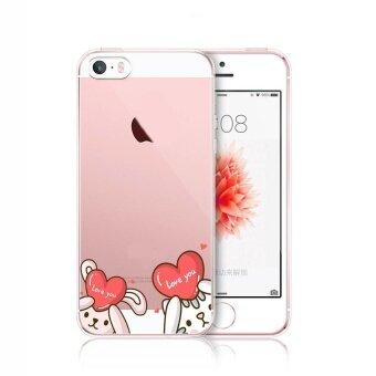 Hug Case TPU เคส Apple iPhone 5 / 5s เคสโทรศัพท์พิมพ์ลาย 913เนื้อบาง 0.3 mm